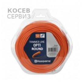 Корда  Хускварна Opti Round за косене на трева  2,4мм/ 15м.