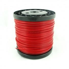 Корда за косене 3,0 мм. червена обла / 64м.