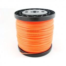 Корда за косене 2,4 мм.оранжева обла /100м.
